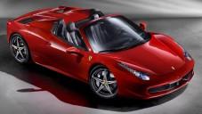 Ferrari 458 Spider zblízka