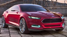 Ford Evos Concept za jízdy