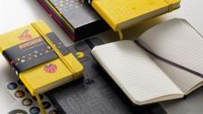 Pac-Man slaví 60 let diáři a zápisníky Moleskine