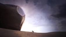 Dokončeno muzeum Erdos v poušti od MAD
