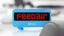 Bublinka FeedAir vám zobrazuje zprávy a vzkazy