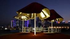 Clavel Arquitectos navrhli kolotoče jako palmy