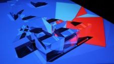 Prisma 1666 je interaktivní instalace paprsků a krystalů