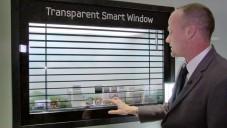 Samsung ukázal okno s průsvitným dotykovým displejem