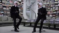 Karl Lagerfeld udělal první rozhovor sám se sebou