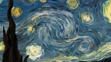 Animátor rozpohyboval Hvězdnou noc od Van Gogha