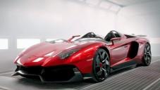 Lamborghini Aventador J je otevřený supersport
