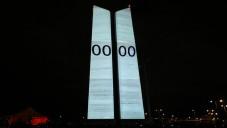 Strahovské věže zažily působivý fénixův videomapping