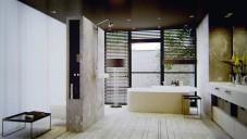 Koncept koupelny Inre vybaven sérií Axor Bouroullec
