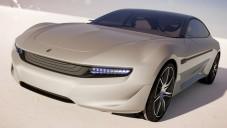Pininfarina Cambiano se během jízdy zcela odhalí
