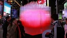 Zářící valentýnské srdce od BIG poprvé na videu