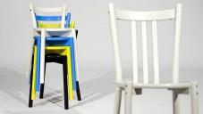 Lisa Norinder ukazuje svou židli v sérii Ikea PS 2012