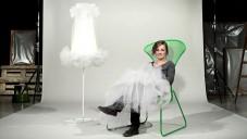 Wiebke Braasch uvádí křeslo a lampu v Ikea PS 2012