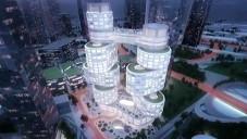 Velo Towers bude mrakodrap s tvarem hřídele