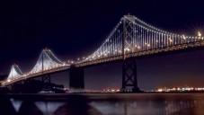 Most v San Francisku bude ozdoben tisíci LED světly