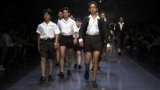 Pánská kolekce Dolce & Gabbana se vrací do 50. let