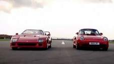 Top Gear srovnával Ferrari F40 a Porsche 959
