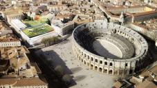 Nimes staví moderní muzeum v historickém centru