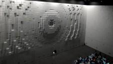Pavilon Hyundai má pohyblivé stěny dělající obrazce