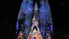 Sagrada Familia posloužila pro skvělý videomapping