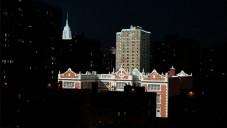 New York natočen časosběrně z části ve dne a v noci