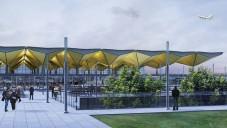 Projděte se stavbou petrohradského letiště Pulkovo