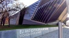 Nahlédněte do Broad Art Museum od Zahy Hadid