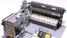 Japonec sestavil z Lega třídící stroj na kostičky