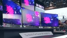 LG představilo první prohnutou OLED televizi