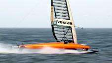 Sailrocket 2 se stala nejrychleji plachtící lodí na světě