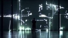 Robert Henke vytvořil 30ti metrovou laserovou instalaci