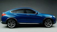BMW X4 Concept se ukazuje na studiovém videu
