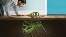 Přírodou inspirovaná židle Vegetal prorůstá i do interiérů