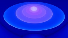 James Turrell proměnil hrou světla Guggenheim Museum
