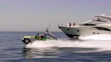 Podívejte se jak se plaví a jezdí WaterCar Panther