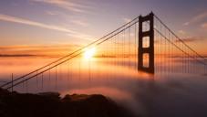 Fotograf natočil San Francisco zahalené mořem mraků