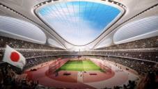 Zaha Hadid ukázala japonský Národní stadion v animaci