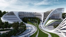 Zaha Hadid představila komplex Beko v Bělehradě