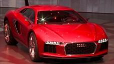 Audi představovalo nové modely aut i koncept Nanuk