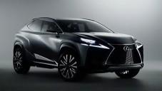 Lexus ukazuje zblízka tvary konceptu LF-NX