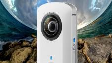 Ricoh Theta umí fotit 360 stupňů přímo do mobilu