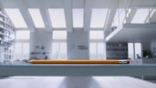 Apple udělal reklamu na iPad Air s obyčejnou tužkou