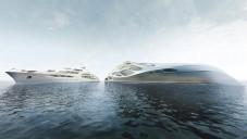 Unique Circle Yachts od Hadid se ukazují na animaci