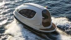 Jet Capsule je malá stylová loď v italském designu