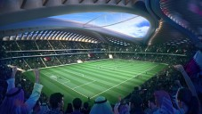 Zaha Hadid a AECOM ukazují stadion Al Wakrah