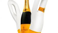 Naturally Clicquot je chladící eko obal na šampaňské