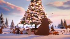 John Lewis má vánoční spot s ručně animovanými zvířaty