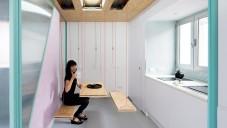 Didomestic je maximálně flexibilní dvoupatrový byt v Madridu