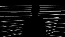 Grafik vytvořil vizualizaci hudby osvětlením provazů