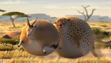 Rollin' Wild ukazuje jak by vypadala zakulacená zvířata